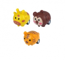Pullpack Jungle figuren 4 cm 48 st